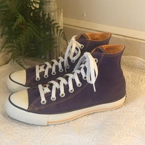 CONVERSE High Top Purple All Star Sneakers Unisex